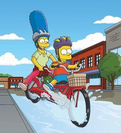Bart et marge - Marge simpson et bart ...
